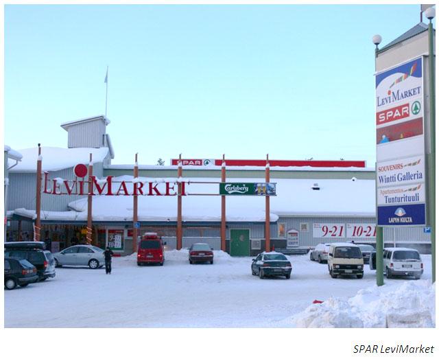 Levimarket on ollut myös Spar-market